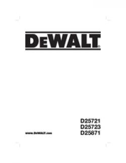 DeWalt D25723