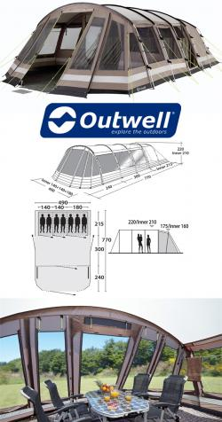 Outwell AvantGarde Delaware 7
